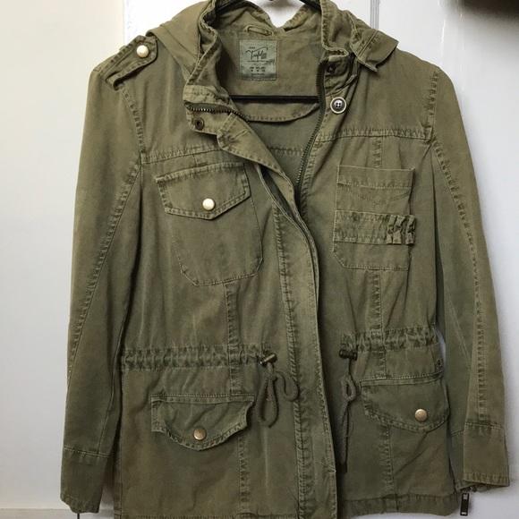 c6899133 Zara Jackets & Coats | Trafaluc Military Army Green Jacket In Size M ...